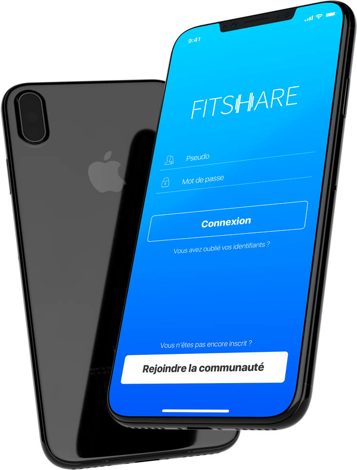 Fitshare application iOS